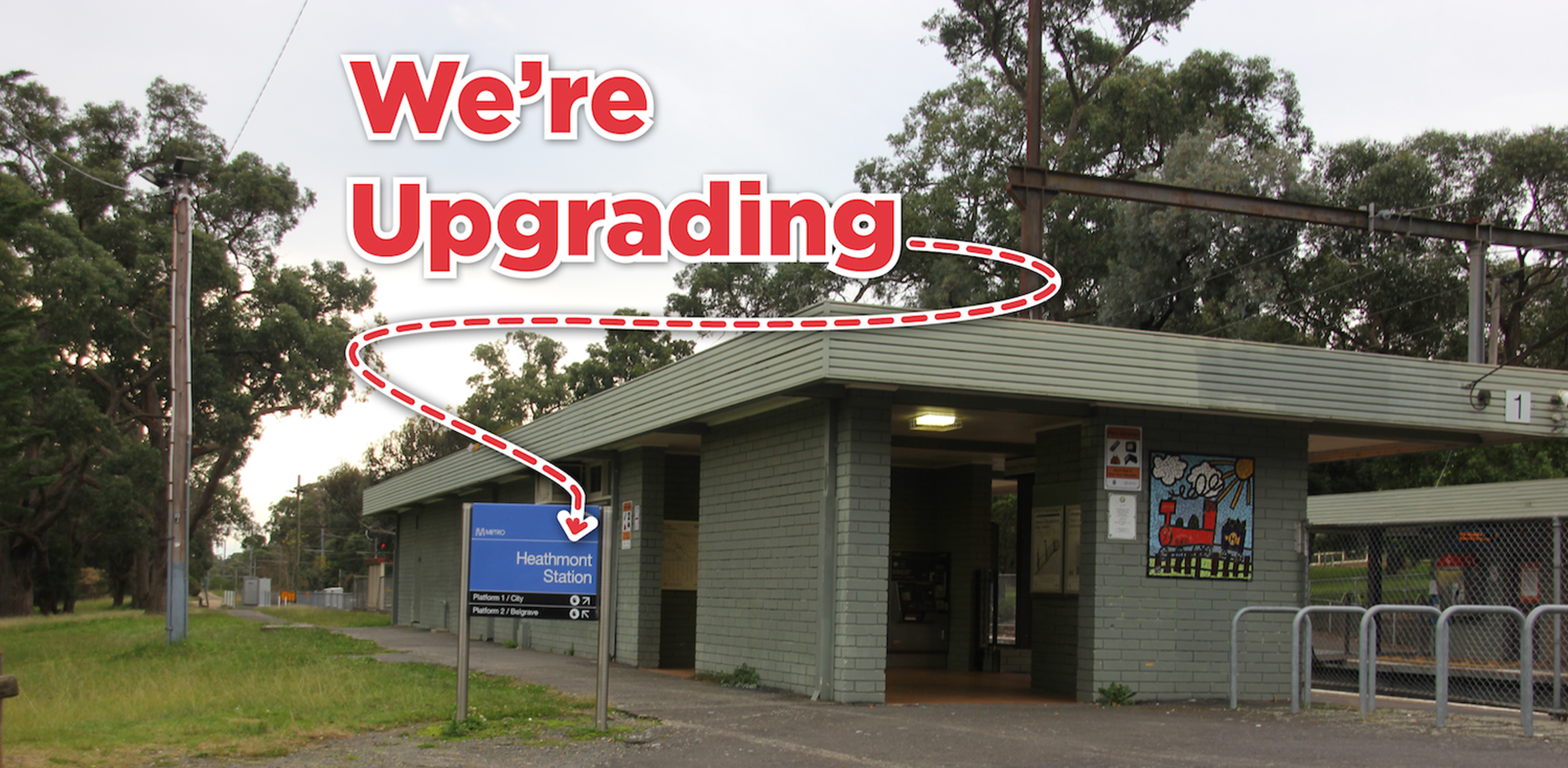 IMPROVING HEATHMONT STATION – SUPPORTING LOCAL JOBS  Main Image