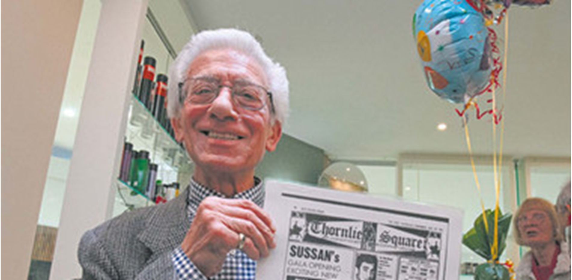 Local hairdessing icon clocks up 50 years of cutting (Examiner, 30 July) Main Image