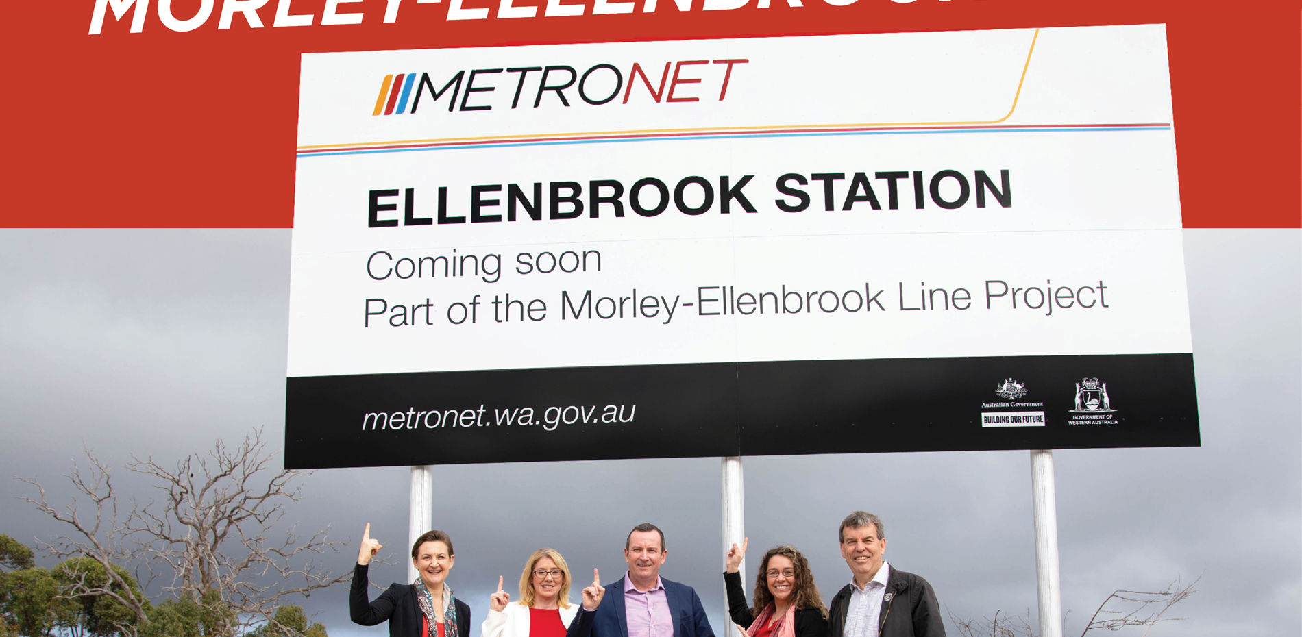 Community excited about METRONET coming to Ellenbrook   Main Image