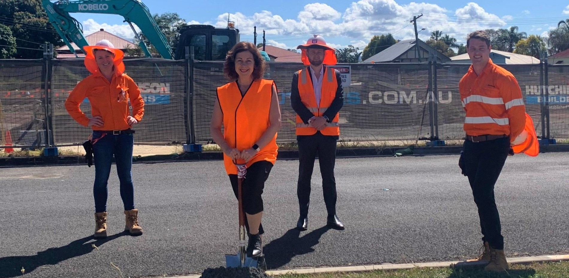 First sod turned on East Ipswich station accessibility upgrade Main Image