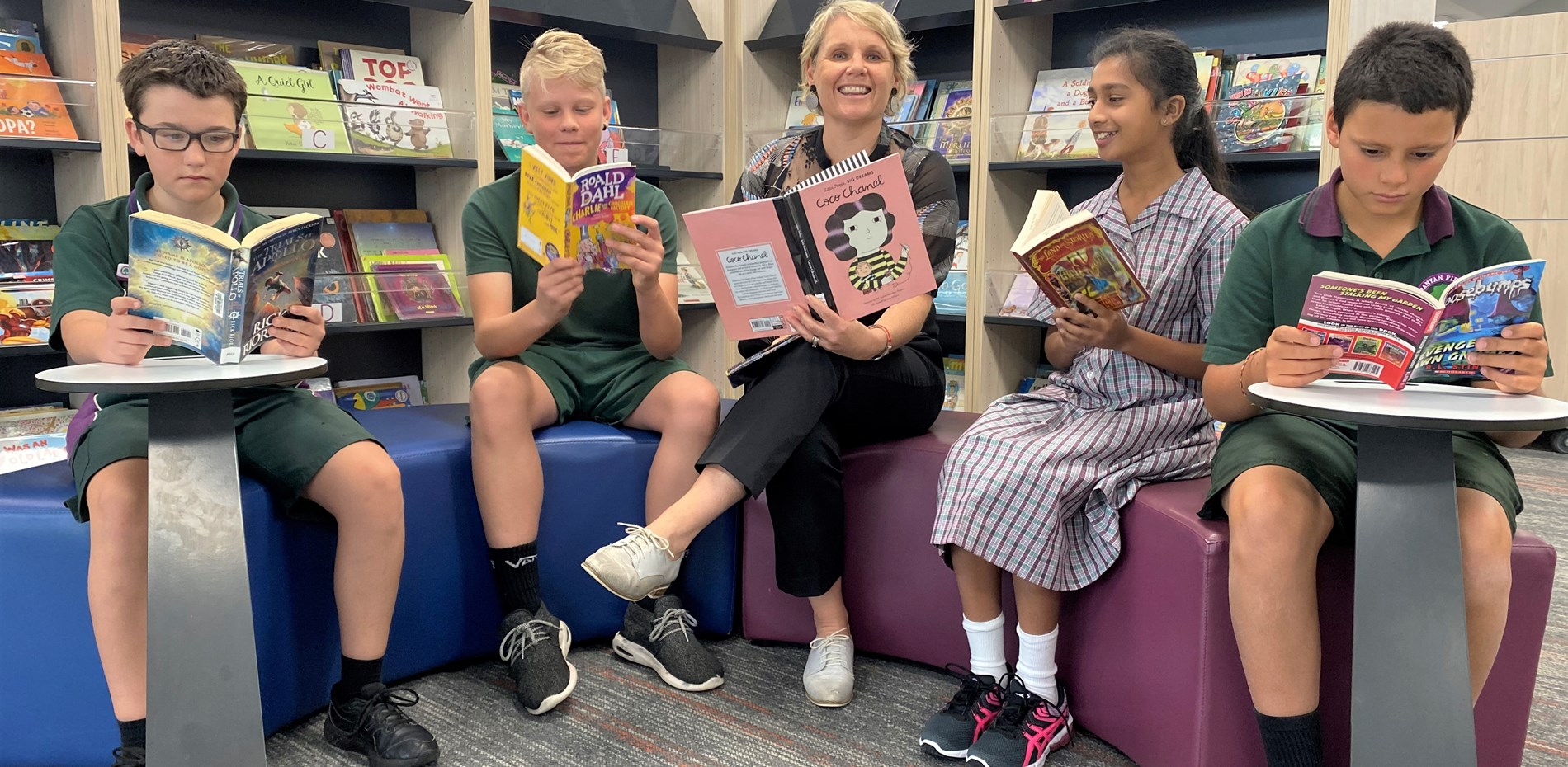 MEDIA RELEASE - OVER 700 NEW BOOKS FOR BANYAN FIELDS PRIMARY SCHOOL - 1 APRIL 2021 Main Image